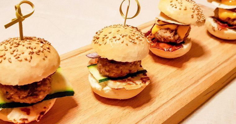 Mini hamburgers op je gourmet