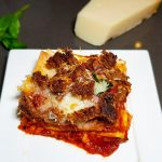 Pizza lasagne
