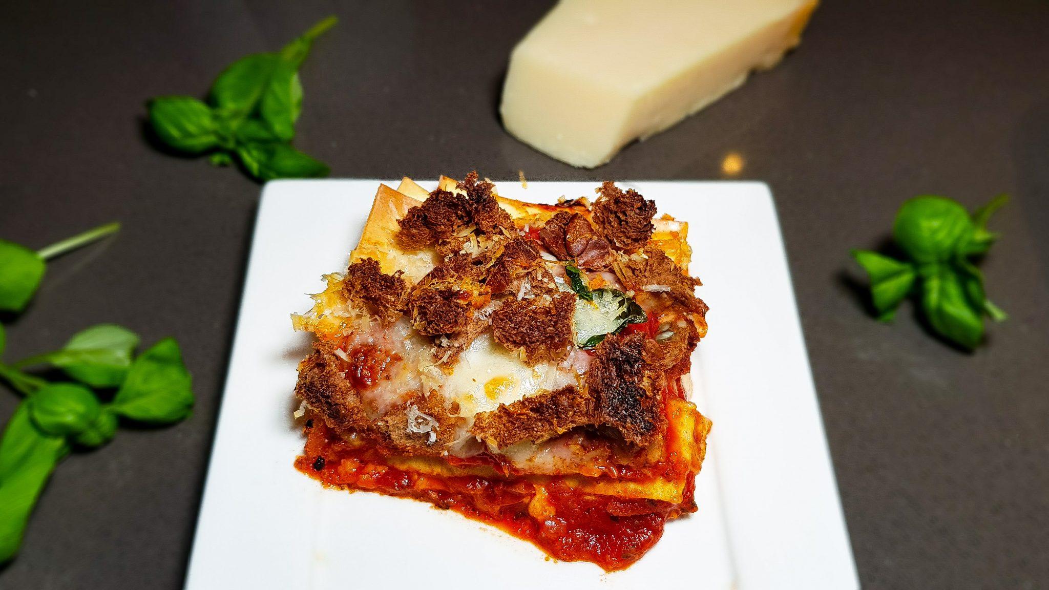 Pizza lasagne