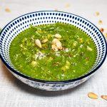 Groene pesto maken