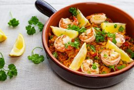 Wereldgerecht: Spaanse Paella van Knorr à la Eviekookt