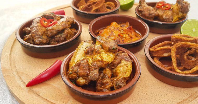 Spaanse kipkluifjes met knoflook