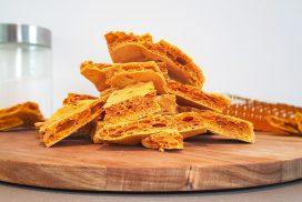 Zelfgemaakte honeycomb