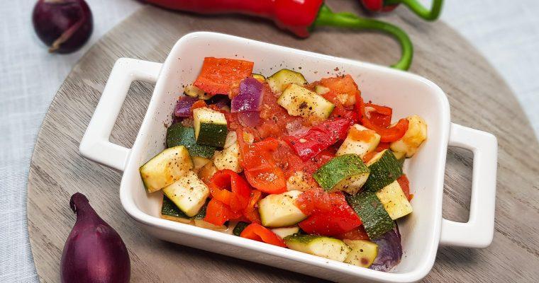 Gegrilde groenten uit de oven
