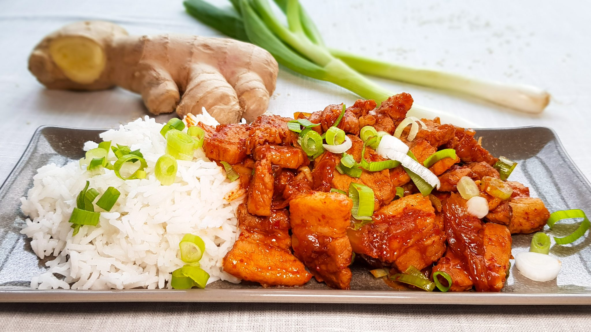 Snelle Kimchistoof met spek (Kimchi Jjigae)