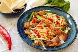 Knorr Wereldgerechten Hokkien Noedels uit Singapore à la Eviekookt