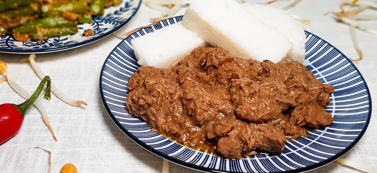 Rendang Padang van Rundvlees
