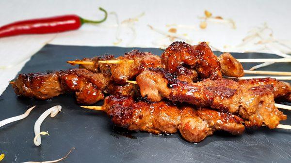 Saté Babi (Saté van varkensvlees)
