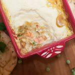 Indiase viscurry uit de oven met bloemkoolpuree