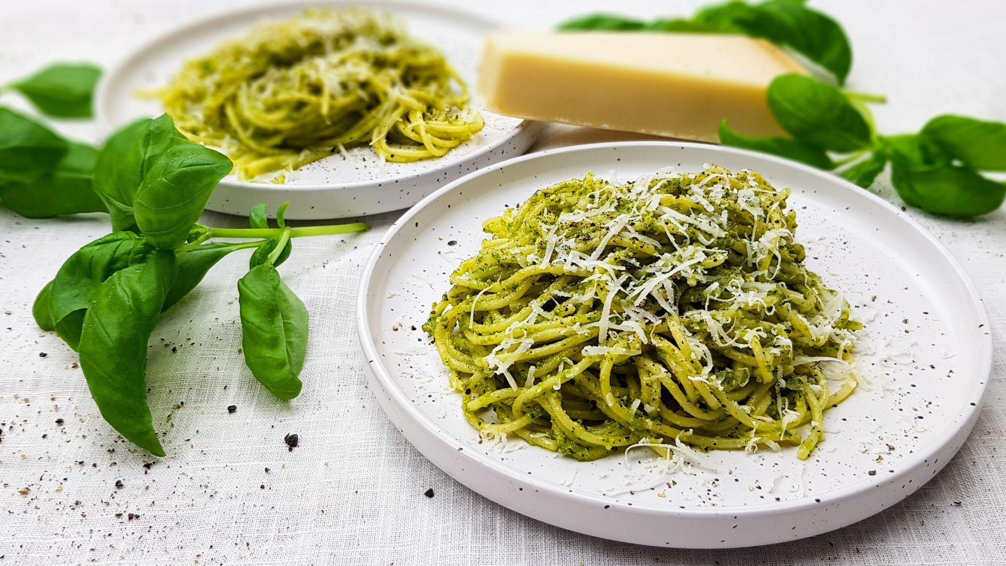 Pasta pesto verde