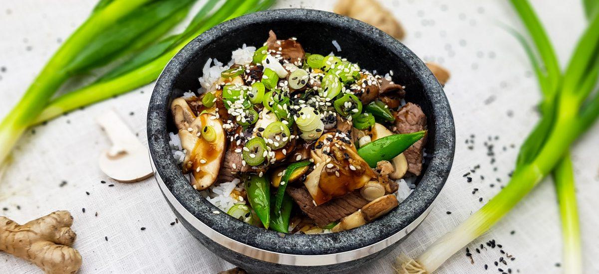 Knorr Wereldgerechten: Beef Teriyaki
