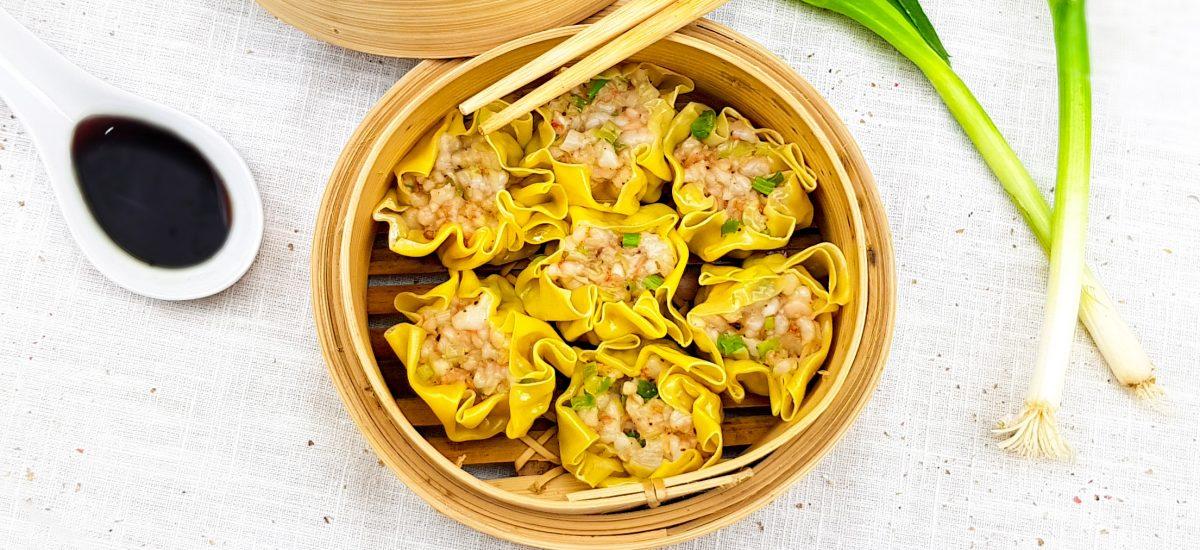 Shiu Mai garnalen dumplings