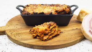 Lasagne met bechamelsaus