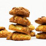 American cookies met pistache en witte chocolade