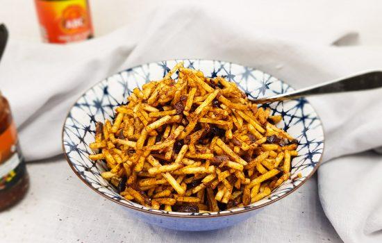 Sambal Goreng Kentang Kering (Indonesische frietjes)
