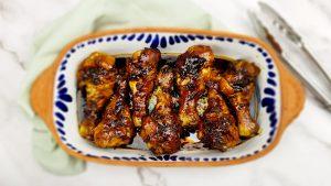 Ketjap kip uit de oven (Indische kip)