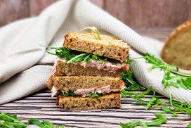 Vitello tonnato sandwich