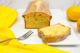 Citroencake met citroenglazuur