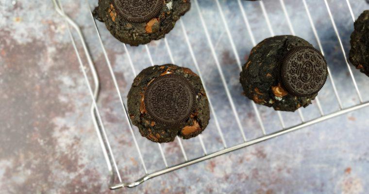 Oreo koekjes met melkchocolade