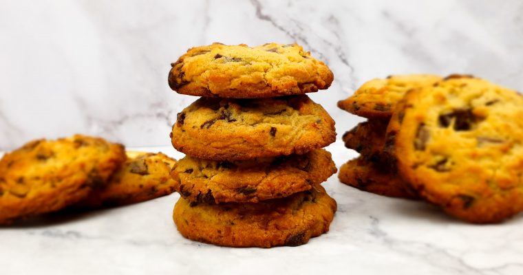 Chocolate chip cookies (American cookies)