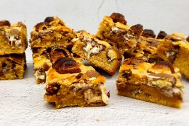 Cookie bars met kinderchocolade en kinderbueno
