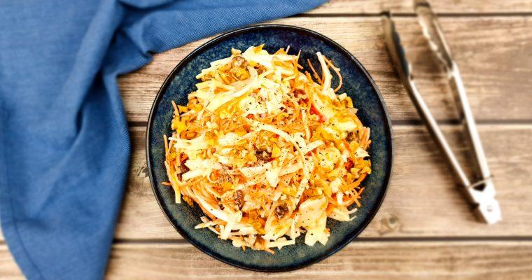Coleslaw: Zelfgemaakte witte kool salade