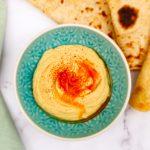 Zelf hummus maken met dit simpele hummus recept!