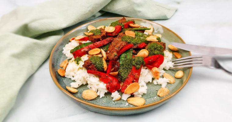 Knorr Wereldgerechten: Beef chimichurri