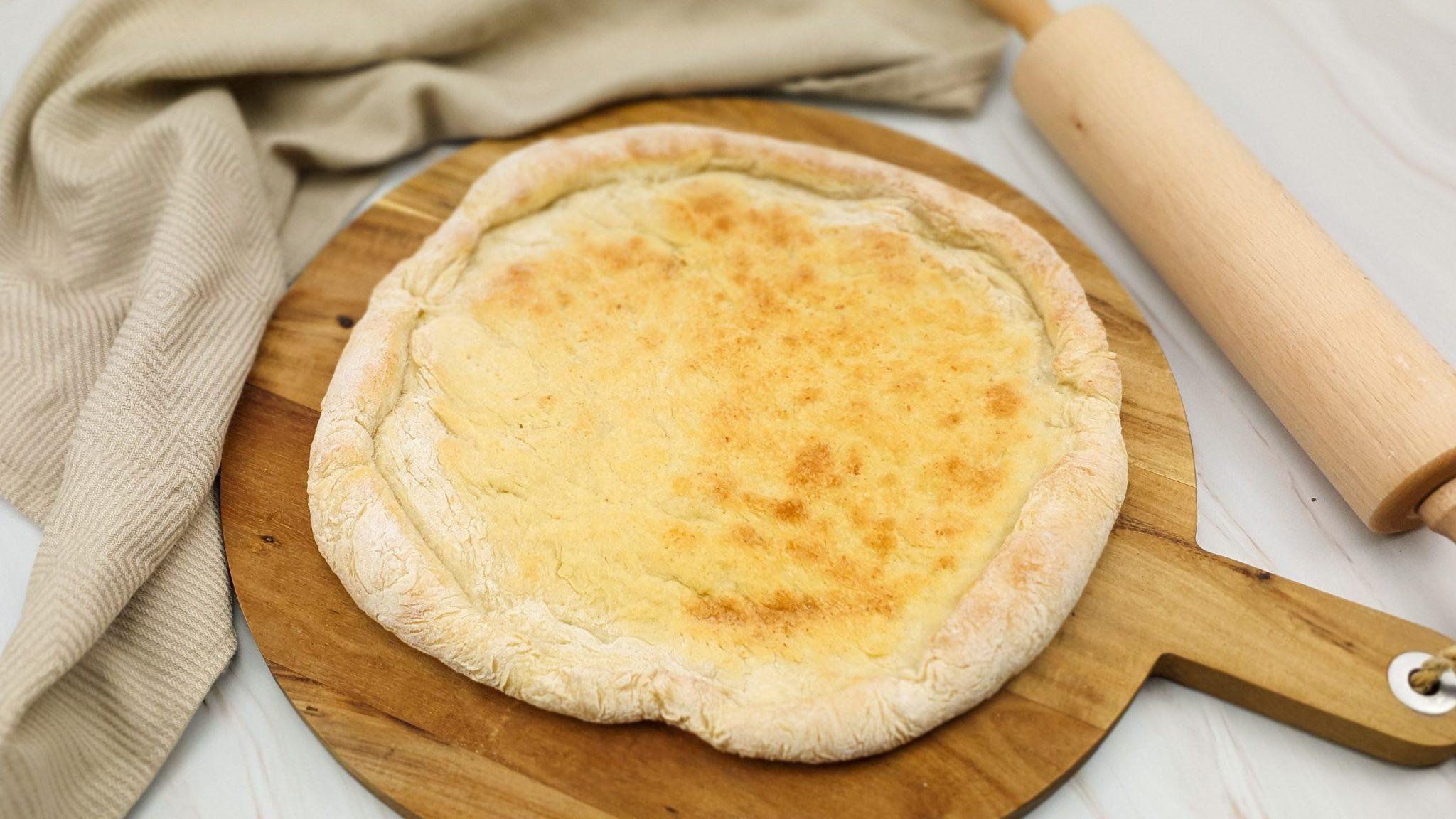 Bloemkoolpizza: Basisrecept bloemkoolbodem