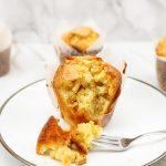 Muffins met macademia nootjes