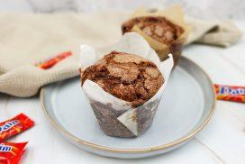 Daim chocolade muffins