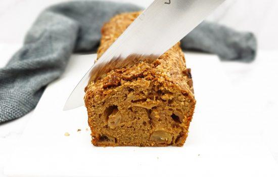 Appelcake met kaneel en nougatine