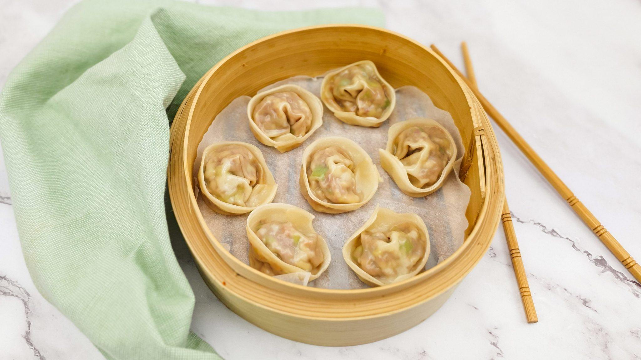 Dumplings gevuld met cha sieuw
