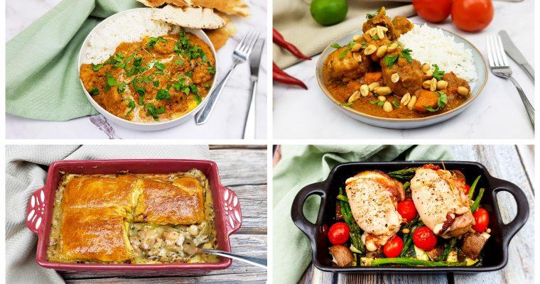 10 lekkere recepten met kip!