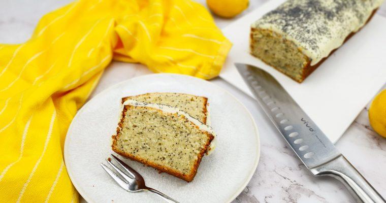 Citroen maanzaad cake met monchou topping