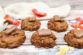 Daim chocolate chip cookies