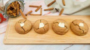 Kaneelkoekjes met vanille glazuur