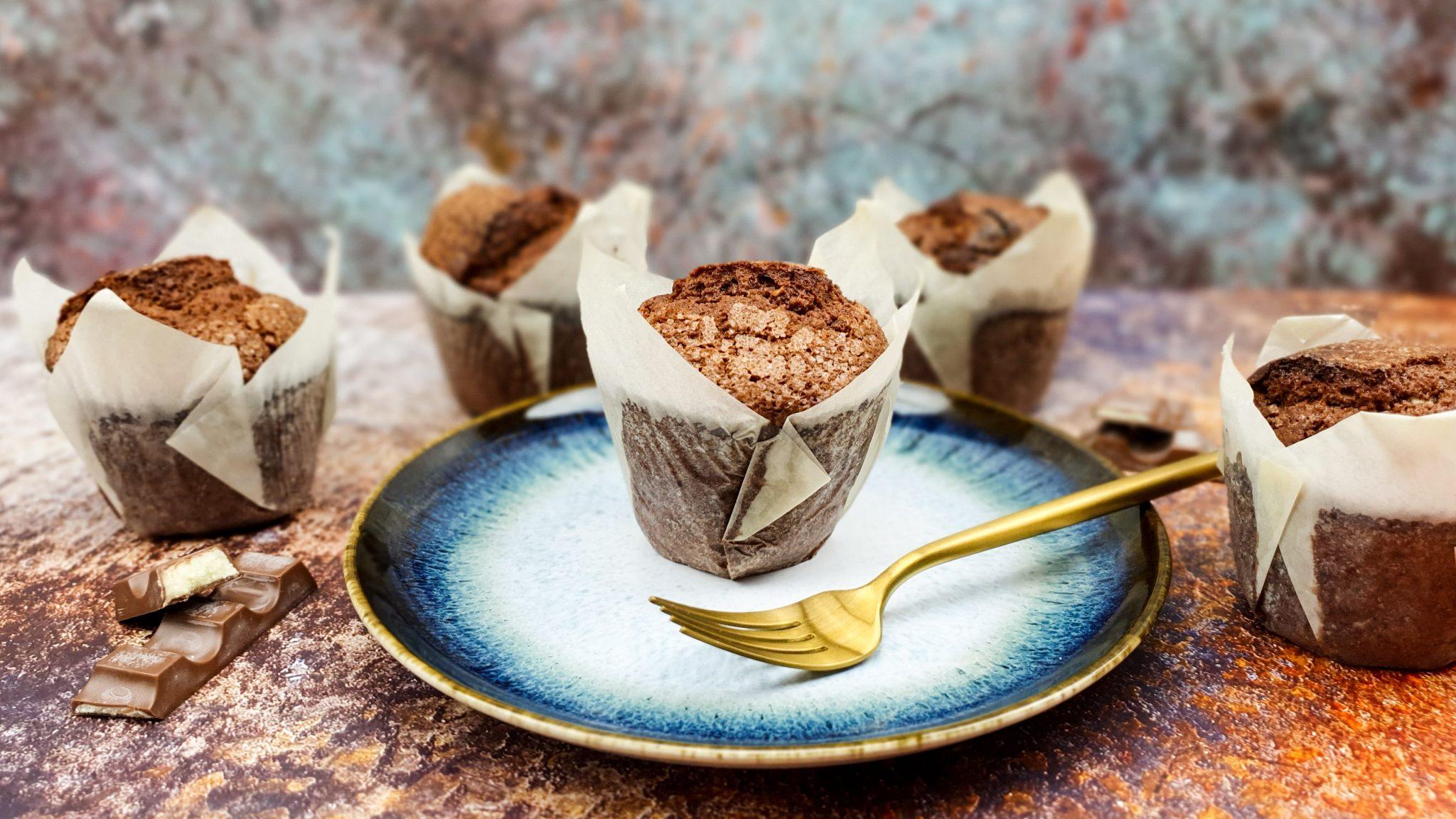 Kinderchocolade muffins
