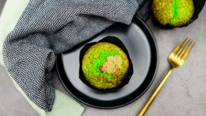 Pandan muffins