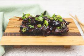 Yakitori: Japanse kipspiesjes met lente ui
