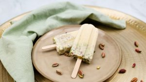 Kulfi: Indiaas ijs met pistachenootjes en gecondenseerde melk