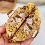 Kinderchocolade cookies met duo penotti vulling