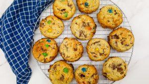 M&M Cookies (Salted Caramel)