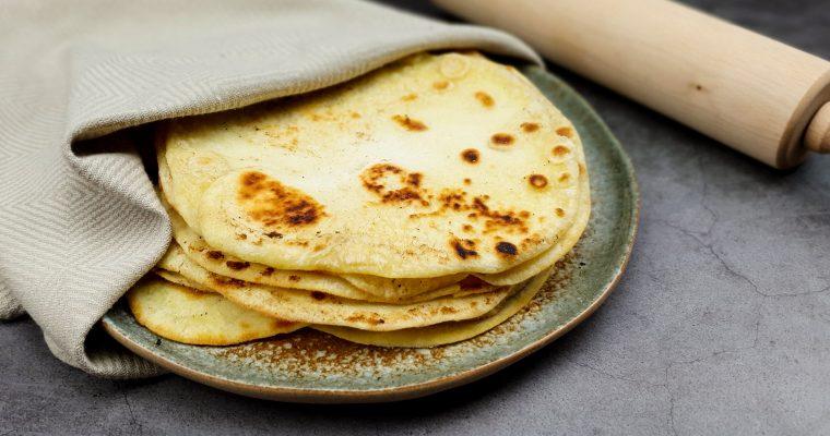 Zelfgemaakte tortilla's