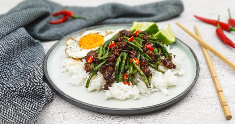 Pad krapow: Thaise kip met basilicum