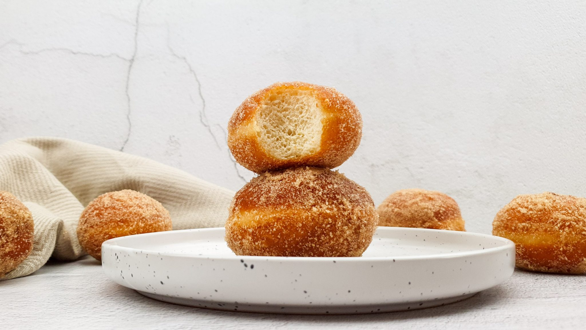 Kaneel donut balletjes