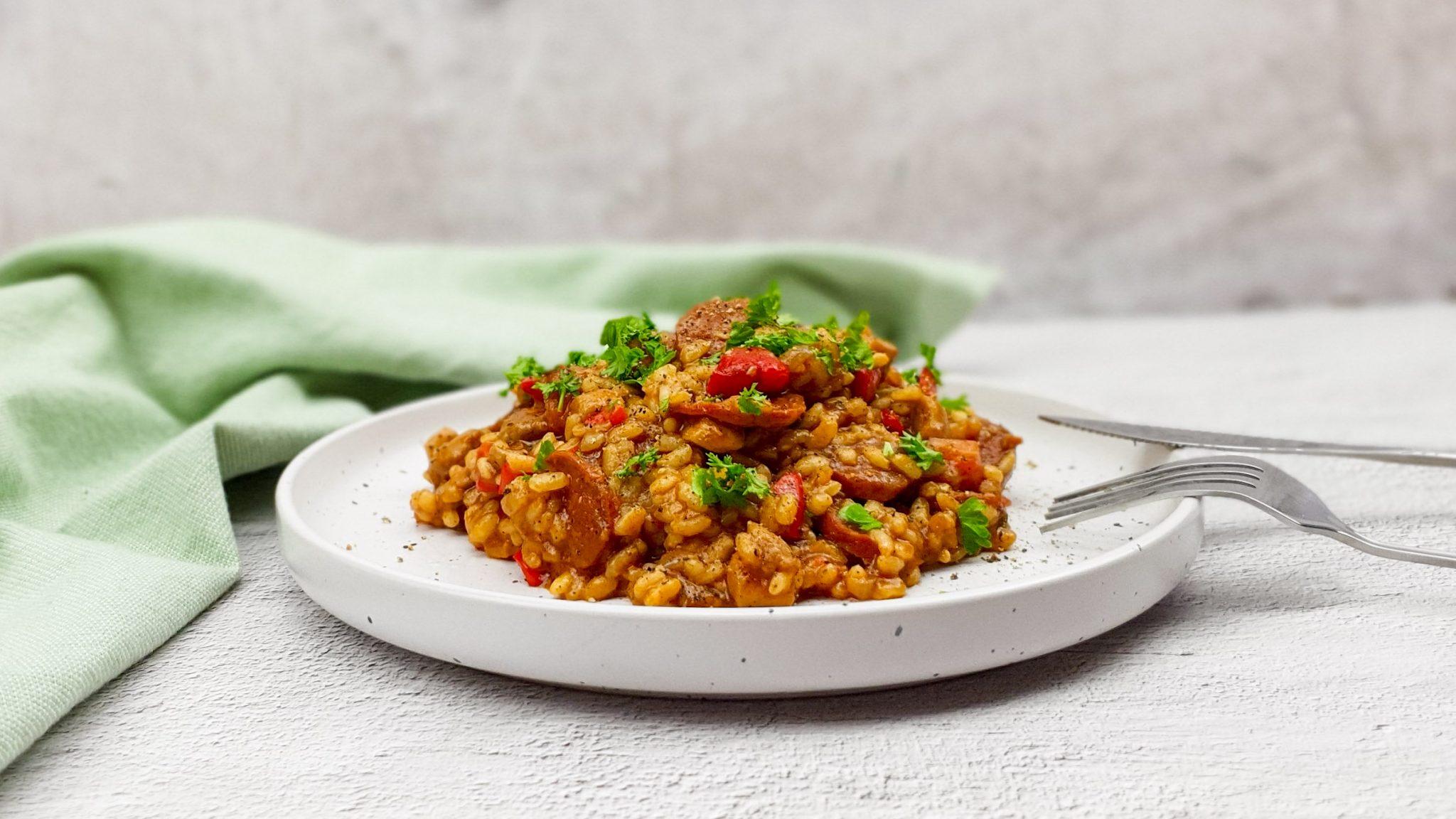Knorr Wereldgerechten: Kip Jambalaya