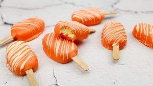Koningsdag cookiedough ijsjes