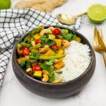Gele kipcurry