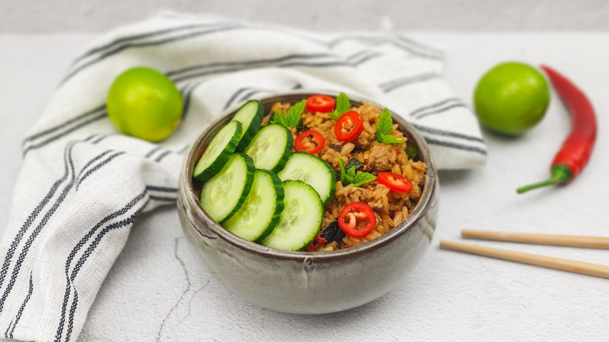 Burmese gebakken rijst
